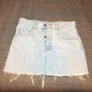 Light Jean skirt